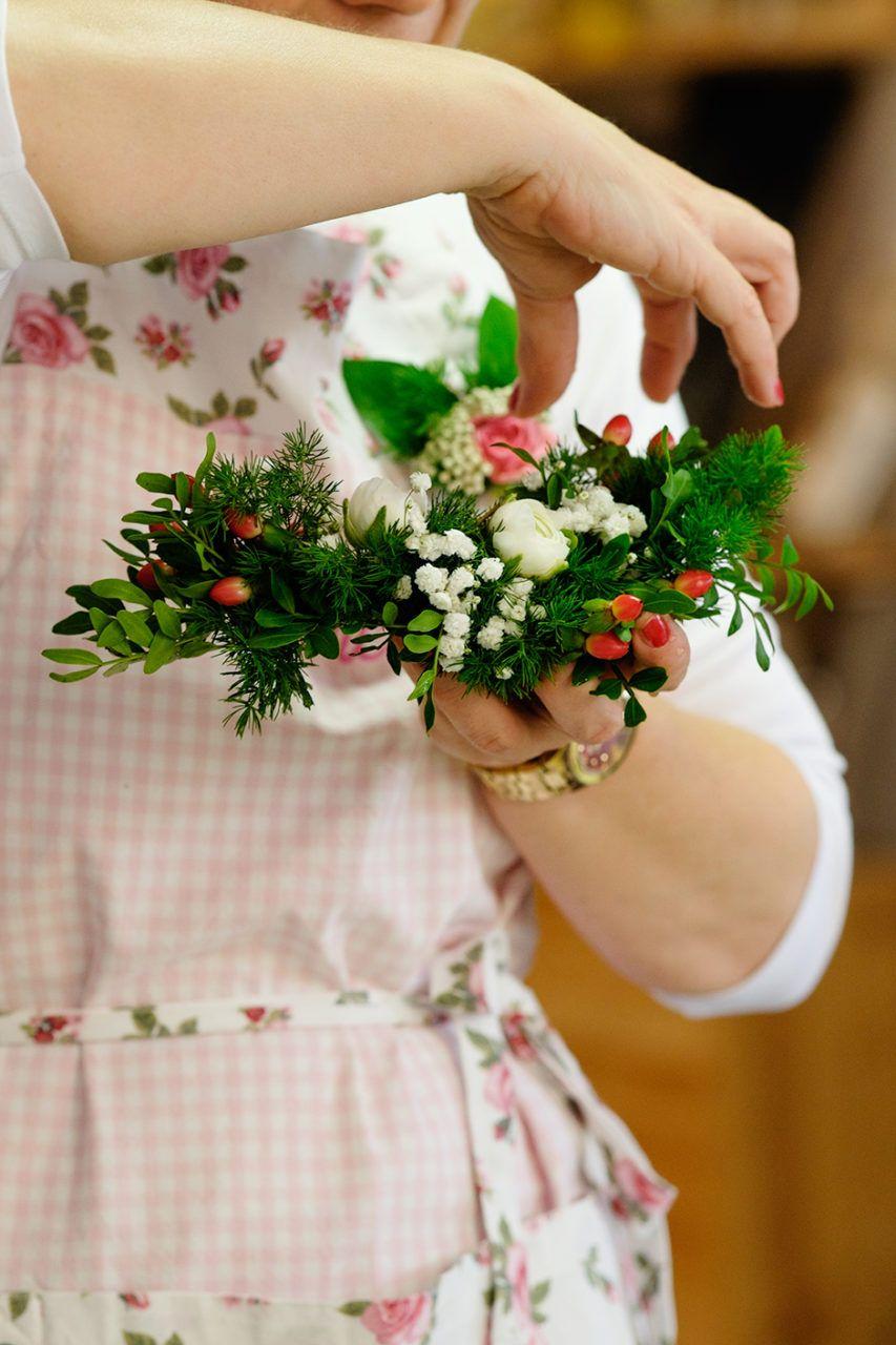 Taller de Prendidos con Flores Naturales