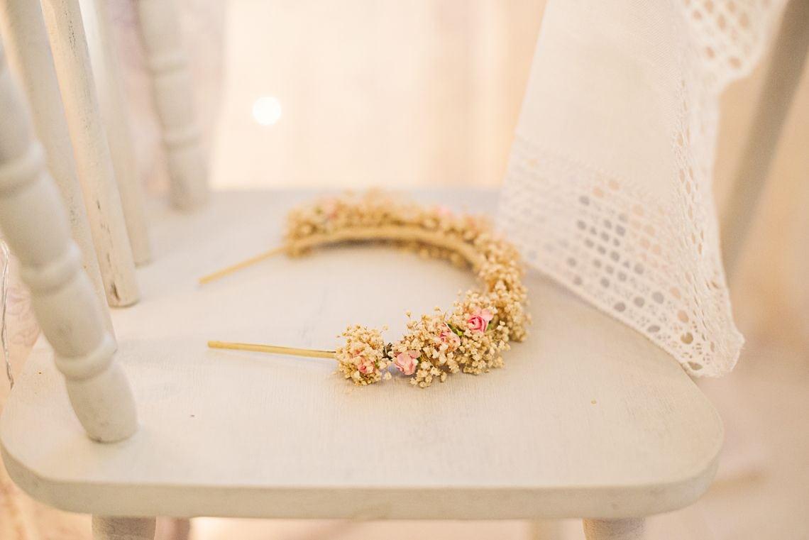 Corona de Flores de Tela, Flor Wearing Couture