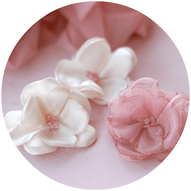 comentarios flores de tela