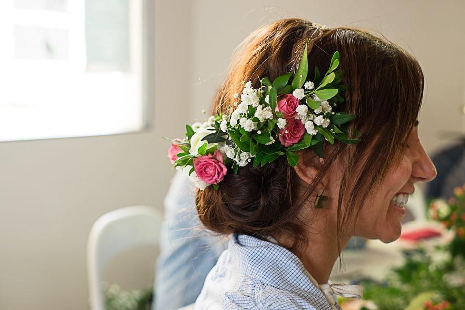 Prendido de flore natural