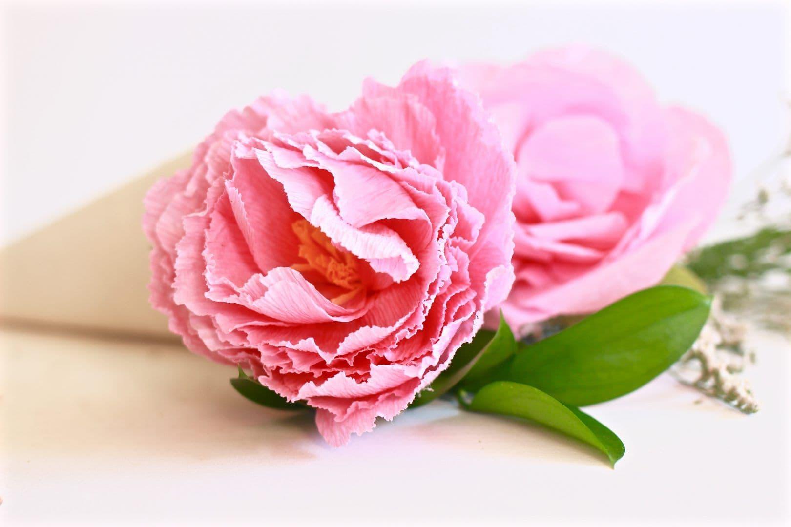 Flore de papel Crepé