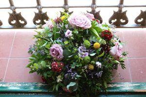 arreglo floral de mesa exquisitae mallorca