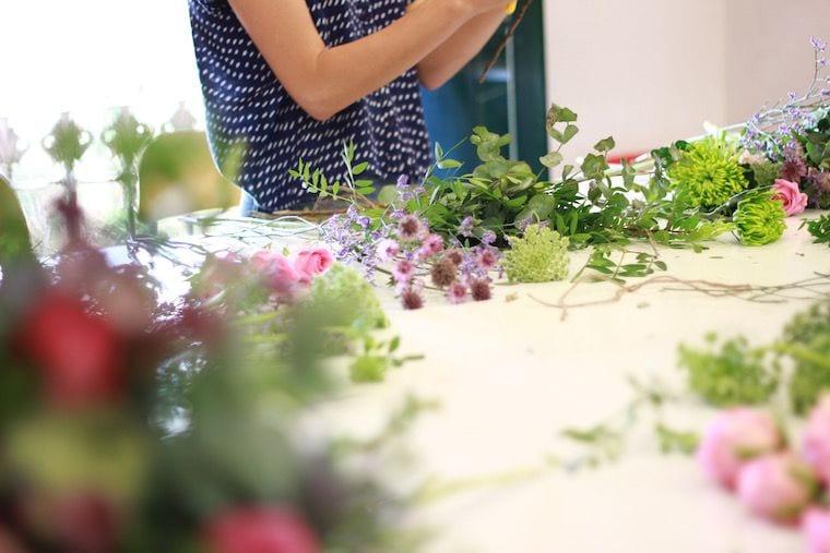 curso diseño floral