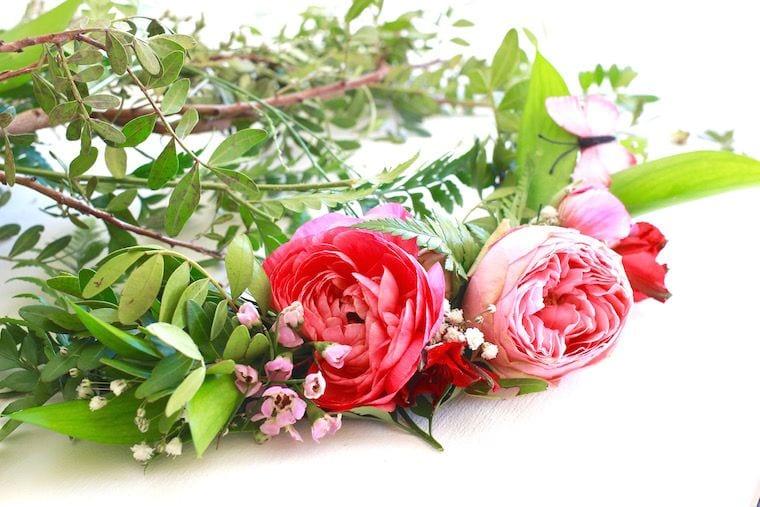 Taller de prendidos con flor natural exquisitae