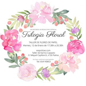 trilogia floral edicion navidad papel