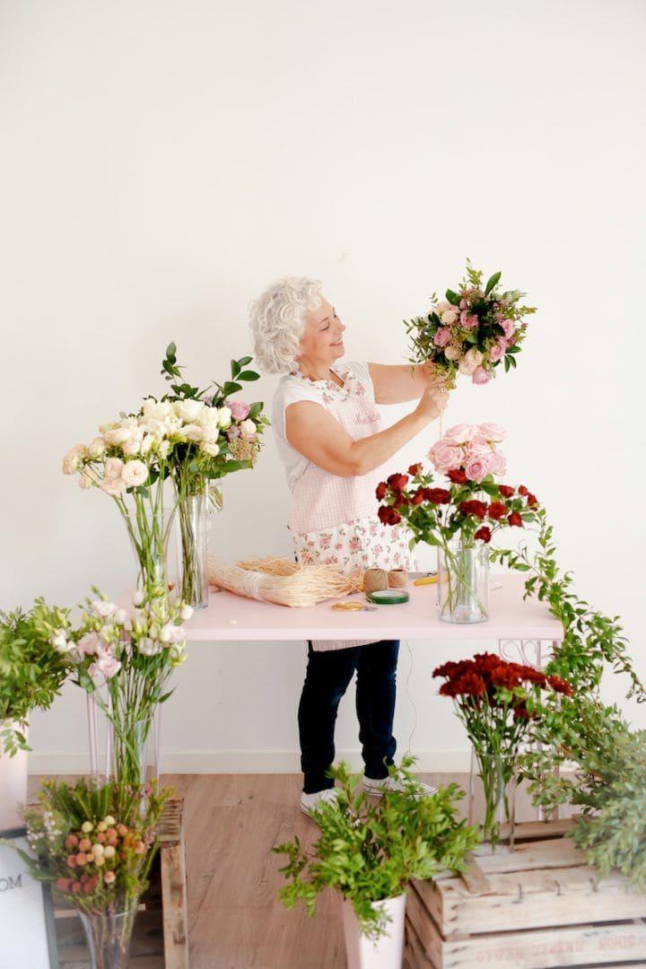 Mercedes Pascual: Talleres Florales presenciales para despertar tu creatividad
