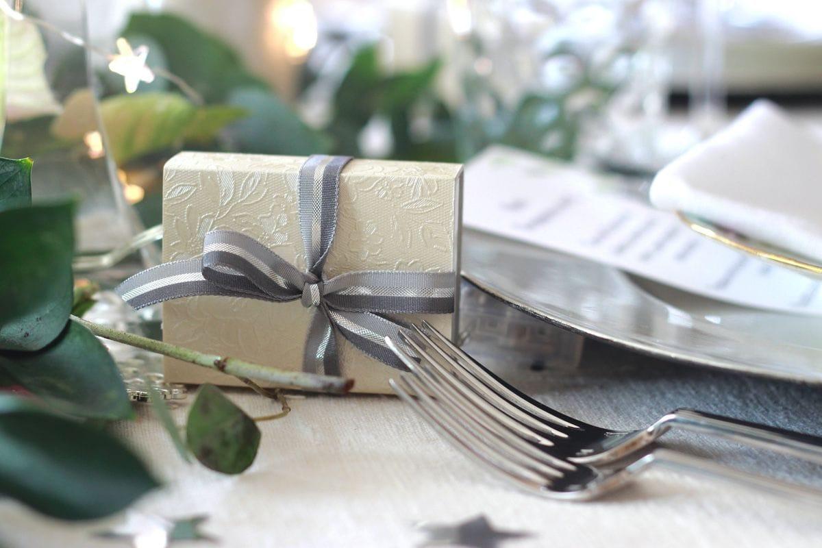 Mi decoración de mesa en Nochebuena