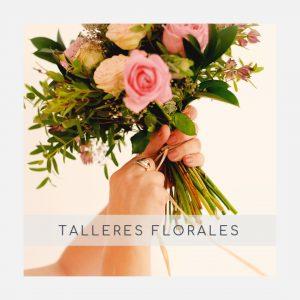 Talleres con flores preservadas y naturales