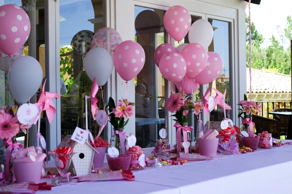 decoración de la fiesta infantil