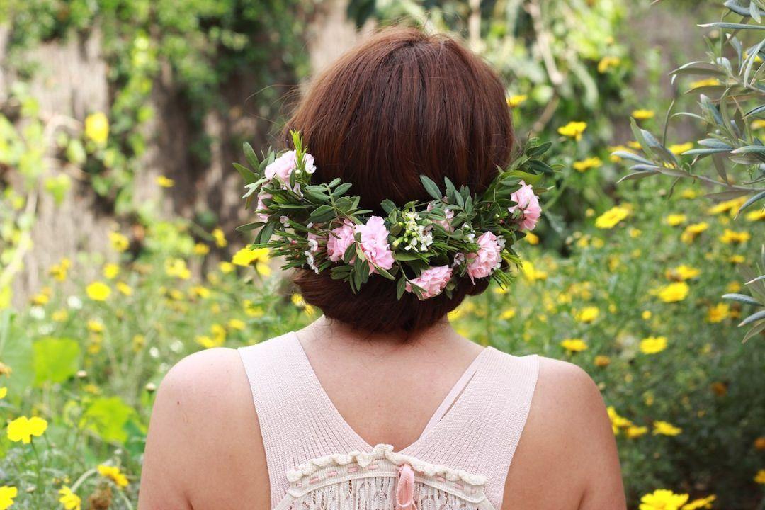 Taller de prendidos con flor natural
