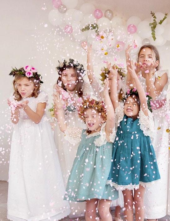 complementos florales y decoración de fiestas infantiles exquisitae