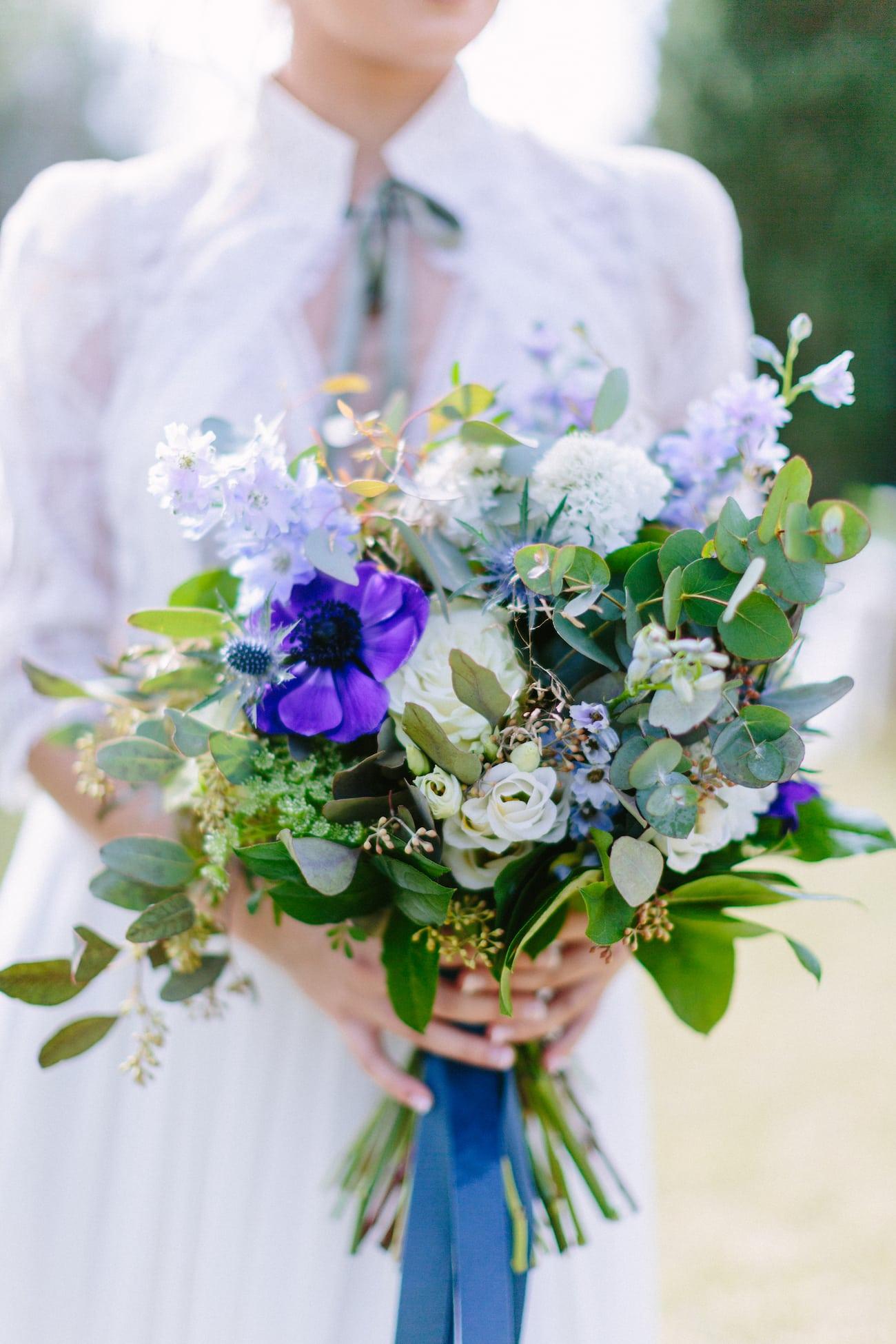 ramo de novia tendencias de decoración floral de bodas y eventos