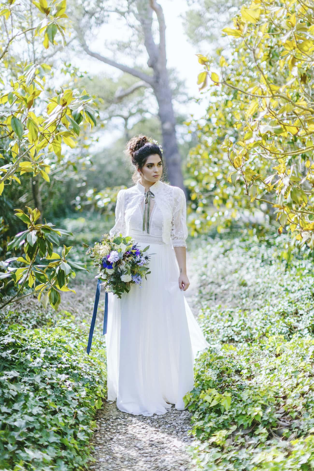 Inspiración y tendencias para novias. flores y decoración