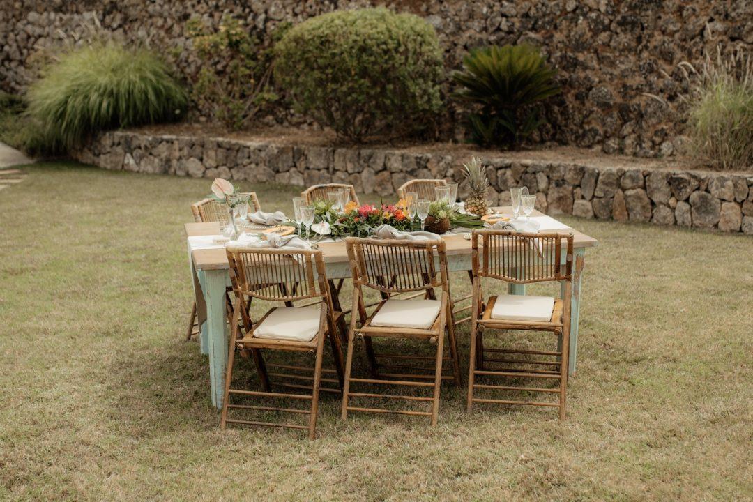 Decoración de boda con tematica tropical ideas geniales con fruta y flores