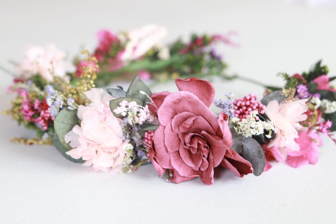 Talleres con flores preservadas presenciales impartidos por exquisitaemallorca
